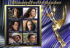 #EmmysForOutlander