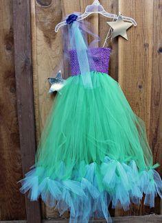 Make a No-Sew Halloween Costume for $20 (Mermaid, Princess or Fairy)!