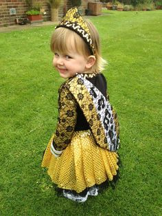 Look at that face. And look at that irish dance dress.