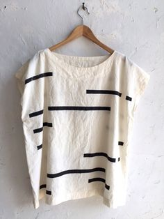 Image of Uzi Broken Stripe Tunic