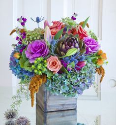 This abundant mix celebrates the season and bring the garden harvest indoors.  $149.00