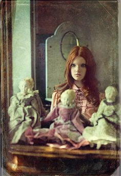 """Mysteries of the old house"" ~ Anastasiya Ivanova by Andrey Yakovlev & Lili Aleeva"