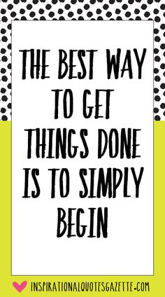 Inspirational Quote for Life and Setting Goals - Visit us at InspirationalQuotesGazette.com for the best inspirational quotes!