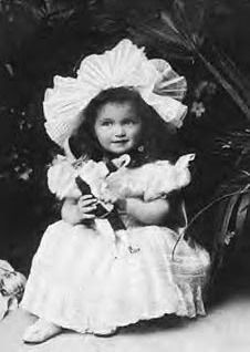 Grand Duchess Olga. Looks just like a baby doll!