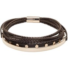 Givenchy Black Multi-Row Choker (£610) ❤ liked on Polyvore featuring jewelry, necklaces, black, leather choker necklace, multi row necklace, givenchy jewelry, leather choker and engraved jewelry