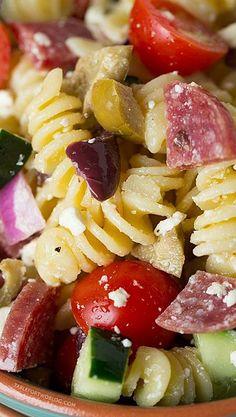 SALADS ⊱╮ on Pinterest | Pasta Salad, Macaroni Salads and ...