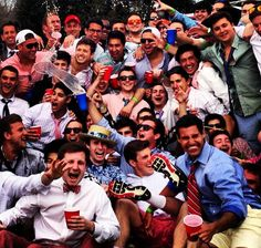 look familiar? this is football season in the preppy South