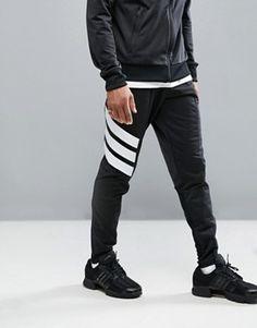 adidas Tango Skinny Joggers In Black
