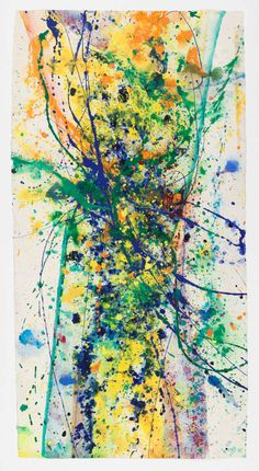 Untitled - SF90-171 | Sam Francis http://www.1stdibs.com/art/paintings/abstract-paintings/