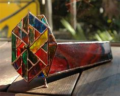 stained glass kaleidoscope - I have one given to me by my agents in TN.  It's beautiful.