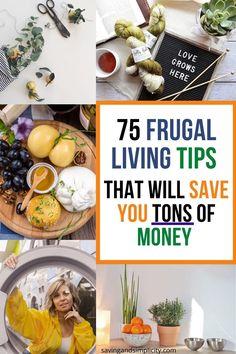 Best Money Saving Tips, Money Saving Challenge, Saving Money, Frugal Living Tips, Frugal Tips, Grocery Savings Tips, Household Expenses, Debt Free Living, Kitchen Shop