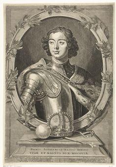 Tsaar Peter de Grote (1672-1725), Pieter van de Berge, Rijksmuseum Amsterdam - woonde een poos in Zaandam om het scheepsbouw-vak te leren