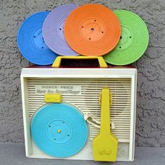 Vintage 1971 Fisher Price Record Player