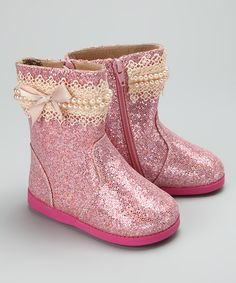 Pinkalicious Squeaker Boot