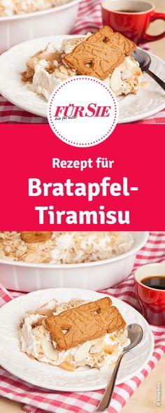 Bratapfel trifft auf Tiramisu. Ein göttliches Dessert-Rezept.