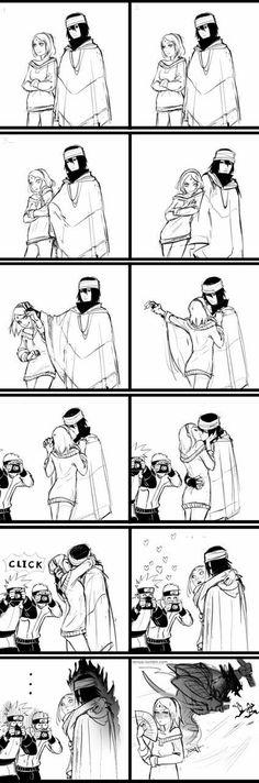 Naruto, Sasuke, Sakura, Love, Kiss blaaaa bla XD