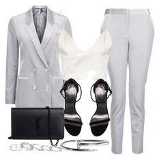 Style #11616 by vany-alvarado on Polyvore featuring polyvore fashion style Topshop Stuart Weitzman Yves Saint Laurent Kendra Scott clothing