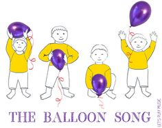 Balloon Song, do re mi, transition activity (plus other fun songs!)