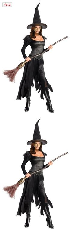 Rubie's Costume Disney's Oz The Great and Powerful Adult Wicked Witch Of The West Dress and Hat, Black, Small, Rubie's costume company has been bringing costumes and accessories to the world since 1950, as the world's leader we take seriously the mission to make dressing up fun, mascots, rental quality costume..., #Apparel, #Women