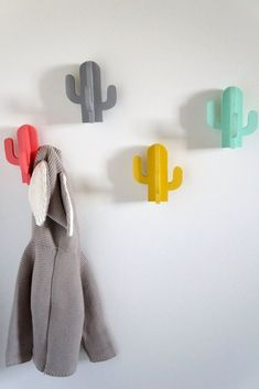 People who buy cactus wall hooks are 100% more likely to keep their stuff tidy