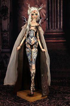 Antilope by Forgotten Hearts. Anime Dolls, Bjd Dolls, Doll Crafts, Diy Doll, Pretty Dolls, Beautiful Dolls, Enchanted Doll, Ball Jointed Dolls, Sculpture
