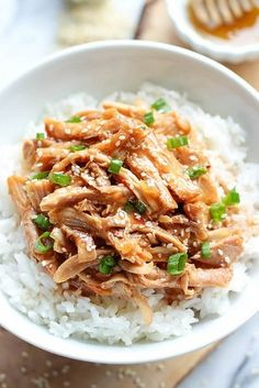 Slow Cooker Honey Sesame Chicken   24 Dump Dinners You Can Make In A Crock Pot