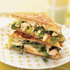 EASY Chicken Caesar Panini  http://www.therecipestore.com/ #chicken meals