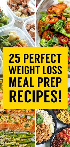 25 Best 'Meal Prep' Recipes That Will Set You Up For Weight Loss Success! - TrimmedandToned
