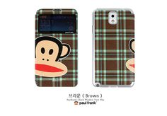 Paul Frank Check Window Flip Case : Samsung Galaxy S3, S4, Note2 and 3