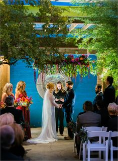 Real Lubbock Texas Wedding by Joshua Ratliff Photography, Southern Elegance Design at McPherson Cellars in downtown Lubbock, bold, colorful, eclectic wedding style