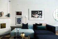 Scandinavian Dining Room Design: Ideas & Inspiration - Di Home Design Room Design, Decor, Living Room Colors, Dream Decor, Apartment Decor, Living Room Inspiration, Small Living Rooms, Scandinavian Dining Room, Sofa Design