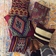50% Off Turkish Kilim Pillows by grandbazaarshopping.com