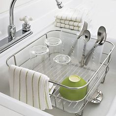 When You Need a Tiny Dish Rack for a Tiny Kitchen — Best Products for Small Kitchens | The Kitchn