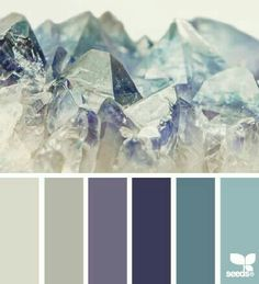 A flourite-inspired colour scheme today. Muted and cold tones x
