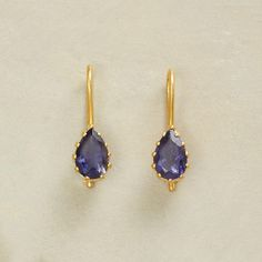 HOLD TIGHT IOLITE EARRINGS: View 1