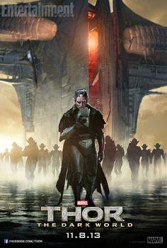 Vía CMB nos llegan dos nuevos posters de personajes de THOR: EL MUNDO OSCURO, en el los que podéis ver a Heimdall y a Malekith.