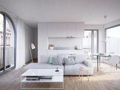 Uiterst zonnig nieuwbouwappartement gelegen op de eerste ver | Immoweb ref:6381250