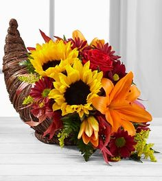Neaman Floral Product the-ftd-fall-harvest-cornucopia-by-bhg Rising Sun, IN, 47040 FTD Florist Flower and Gift Delivery Thanksgiving Flowers, Thanksgiving Centerpieces, Thanksgiving Table, Fresco, Fall Floral Arrangements, Christmas Arrangements, Fall Flowers, Send Flowers, Better Homes And Gardens