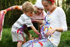 Paint inspired Maternity session for my adventurous types... or me during my next pregnancy!
