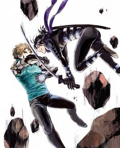 -- One Punch Man -- Genos vs Onsoku no Sonic