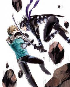 -- One Punch Man -- Genos vs Onsoku no Sonic