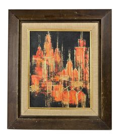 Abstract Landscape by Kay Blaco on Chairish.com