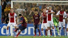 Champions League - Magical Messi hits hat-trick in Ajax rout - Yahoo Eurosport UK