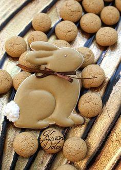 rabbit bunny easter cookie