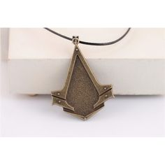 Assassin's Creed Syndicate Bronze Assassin Insignia Necklace