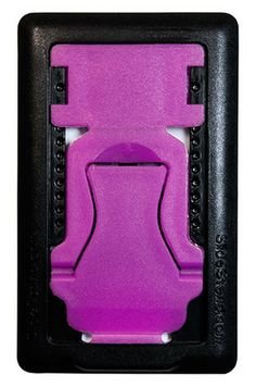 SlideStand Stand for Smartphones - White Smartphone, Purple, Black, Products, Black People