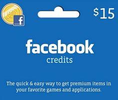 Facebook Credits - $15