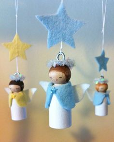 Forest Fairy Crafts - Journal - Happy Holidays with Angels