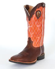 """Twisted X Boots Men's 14"""" Oiled Ruff Stock Boots - www.fortwestern.com"""