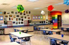 Great art classroom for younger students teach класс Art Classroom Decor, Classroom Labels, Classroom Setting, Classroom Design, Classroom Displays, Classroom Ideas, Classroom Organization, Shop Organization, Planner Stickers